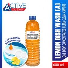 Lemon DishWash UltraClean4xMore Small (600ml)
