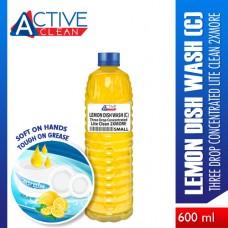 Lemon Dish Wash LiteClean2xMore Small (600ml)
