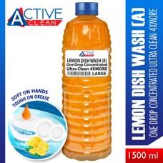 Lemon DishWash UltraClean4xMore Large (1500ml)