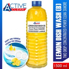 Lemon DishWash PowerClean3xMore Large (1500ml)